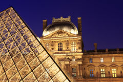 Louvre, Paris. imagens de stock
