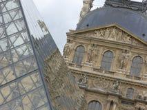 O Louvre Paris Foto de Stock