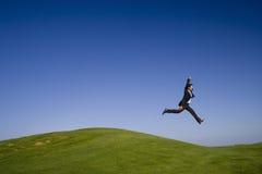 O último passo gigante Fotografia de Stock Royalty Free