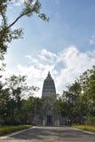 O lugar da Buda ilumina Fotos de Stock Royalty Free