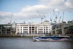O lugar do comerciante de vinhos, Londres Foto de Stock Royalty Free