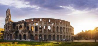 O lugar famoso de Colosseum Imagens de Stock