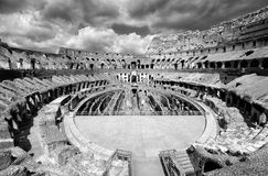 O lugar famoso de Colosseum Fotos de Stock Royalty Free