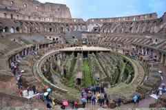 O lugar famoso de Colosseum Imagem de Stock