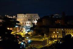O lugar famoso de Colosseum Fotos de Stock
