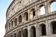 O lugar famoso de Colosseum Fotografia de Stock