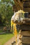 O lugar para reza na estátua da Buda, Tailândia Fotos de Stock Royalty Free