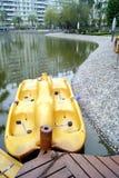 O lugar pequeno do barco Fotografia de Stock Royalty Free
