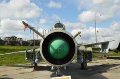 O lutador - bombardeiro Su-17 M Imagens de Stock
