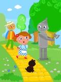 O mágico de Oz maravilhoso 03 Tin Man ilustração royalty free