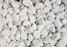O mármore branco lustrado remenda o close up Imagens de Stock Royalty Free