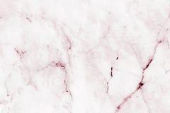 O mármore claro cor-de-rosa modelou o fundo da textura, mármore genuíno detalhado da natureza Imagens de Stock Royalty Free