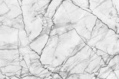 O mármore preto e branco abstrato modelou (o fundo da textura dos testes padrões naturais) Fotos de Stock