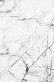O mármore preto e branco abstrato modelou (o fundo da textura dos testes padrões naturais) Imagens de Stock