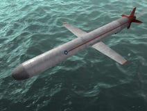 O míssil. Imagens de Stock
