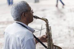 O músico Foto de Stock Royalty Free