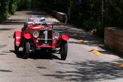 O M 665 SPORT SUPERBA 2000 CM3 1927 Royalty-vrije Stock Foto's