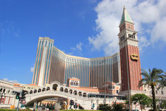 O Macao Venetian Foto de Stock Royalty Free
