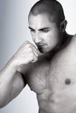 O macho muscular perfeito fotos de stock royalty free