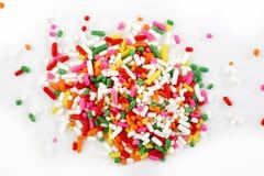 O macro do arco-íris polvilha Foto de Stock Royalty Free