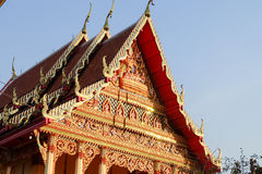 O MAI de Wat noen o payom no sriracha Foto de Stock