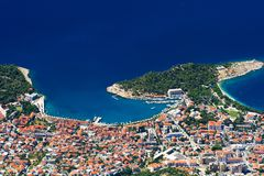 O Makarska Foto de Stock Royalty Free