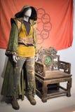 O mandarino Custume dos dez anéis Foto de Stock