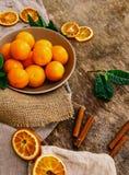 O mandarino delicioso Fotografia de Stock