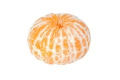 O mandarino descascado Fotografia de Stock