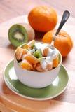 O mandarino e quivi Imagens de Stock