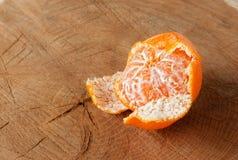 O mandarino riscado com lixa Imagens de Stock