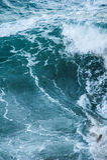 O mar acena durante uma tempestade Imagens de Stock Royalty Free