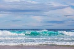 O mar acena no cabo Woolamai Imagens de Stock Royalty Free