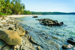 O mar azul Imagens de Stock Royalty Free