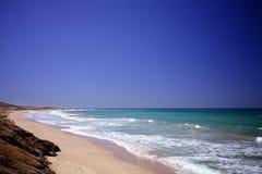 O mar das caraíbas Foto de Stock
