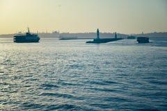 O mar de marmara Foto de Stock Royalty Free