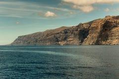 O mar de Tenerife imagem de stock