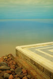 O mar e o mármore Foto de Stock