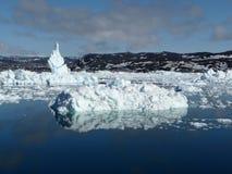 O mar em Ilulissat Fotos de Stock Royalty Free