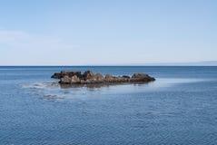 O mar em Islândia Imagem de Stock Royalty Free