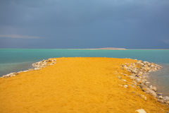O mar inoperante. Foto de Stock