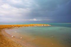 O mar inoperante original. foto de stock