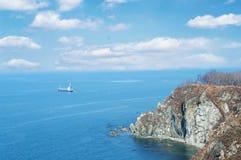 O mar japonês Imagens de Stock Royalty Free