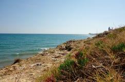 O mar Mediterrâneo Fotografia de Stock