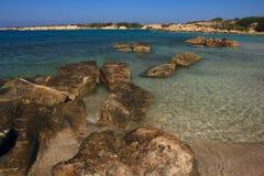 O mar Mediterrâneo chipre Paphos Fotografia de Stock