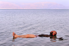 O Mar Morto - Israel Fotografia de Stock Royalty Free
