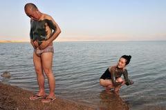 O Mar Morto - Israel Fotos de Stock Royalty Free