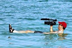 O Mar Morto - Israel Imagens de Stock Royalty Free