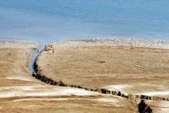 O Mar Morto - Israel Foto de Stock Royalty Free