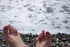 O Mar Negro Imagens de Stock Royalty Free